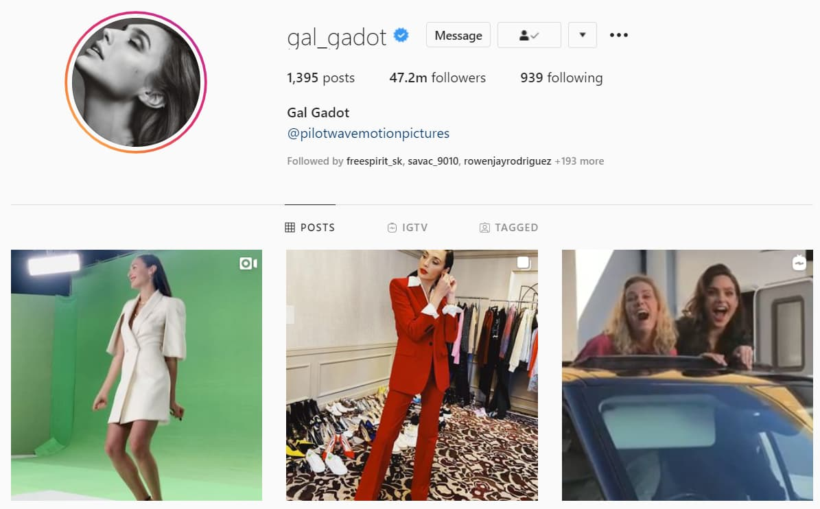 What is gal gadot instagram account? gal gadot pregnant instagram, gal gadot instagram photos, gal gadot husband Instagram, wonder woman actress, gal gadot wonder woman, gal gadot Instagram videos.