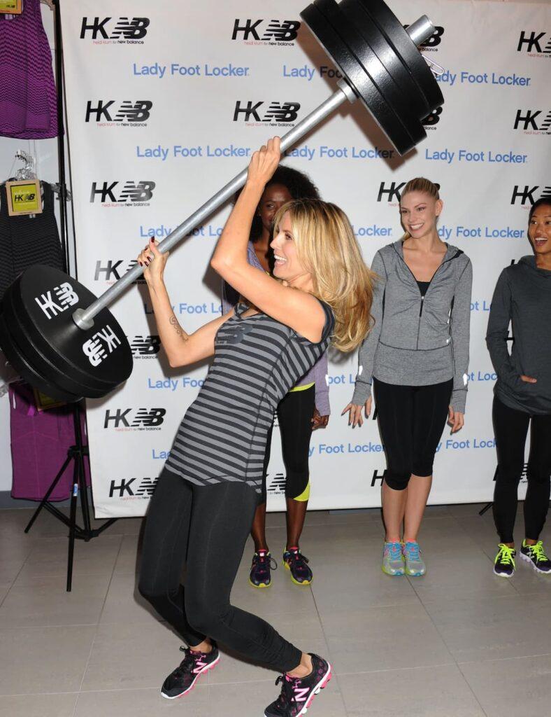 Heidi Klum age, Heidi Klum diet, Heidi Klum favorite exercise, Heidi Klum favorite food, Heidi Klum favorite sport, Heidi Klum fitness, Heidi Klum weight, Heidi Klum Workout Plan, Heidi Klum's Diet Plan